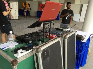 Sound System Booth Rental Singapore