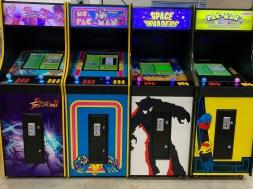 Standing Video Arcade Machines