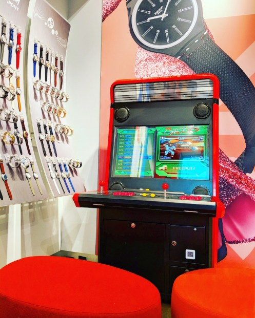 Video Arcade Rental at Swatch