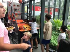 arcade basketball machine for rent in Singapore