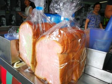 traditional Ice cream bread