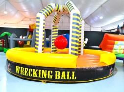 Wrecking Ball Inflatable Game Rental Singapore