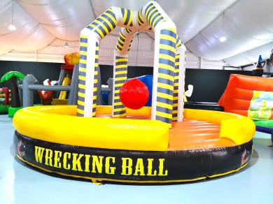 Wrecking Ball Inflatable Game Rental Singapore