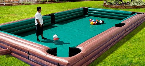Human Pool Table