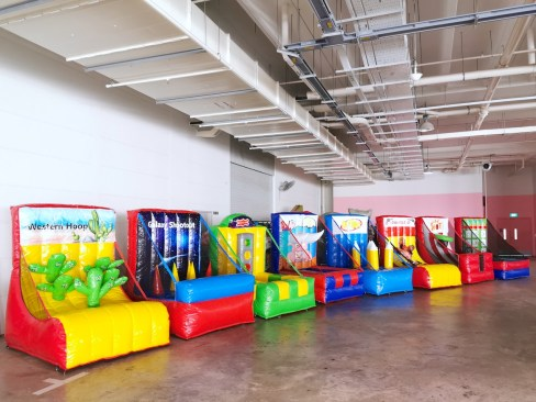 Inflatable Carnival Game Stalls Rental Singapore