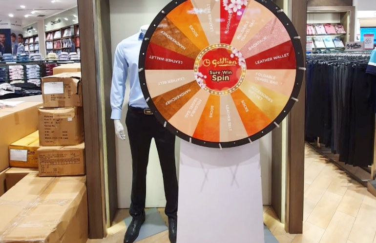 Spin The Wheel Rental in Singapore