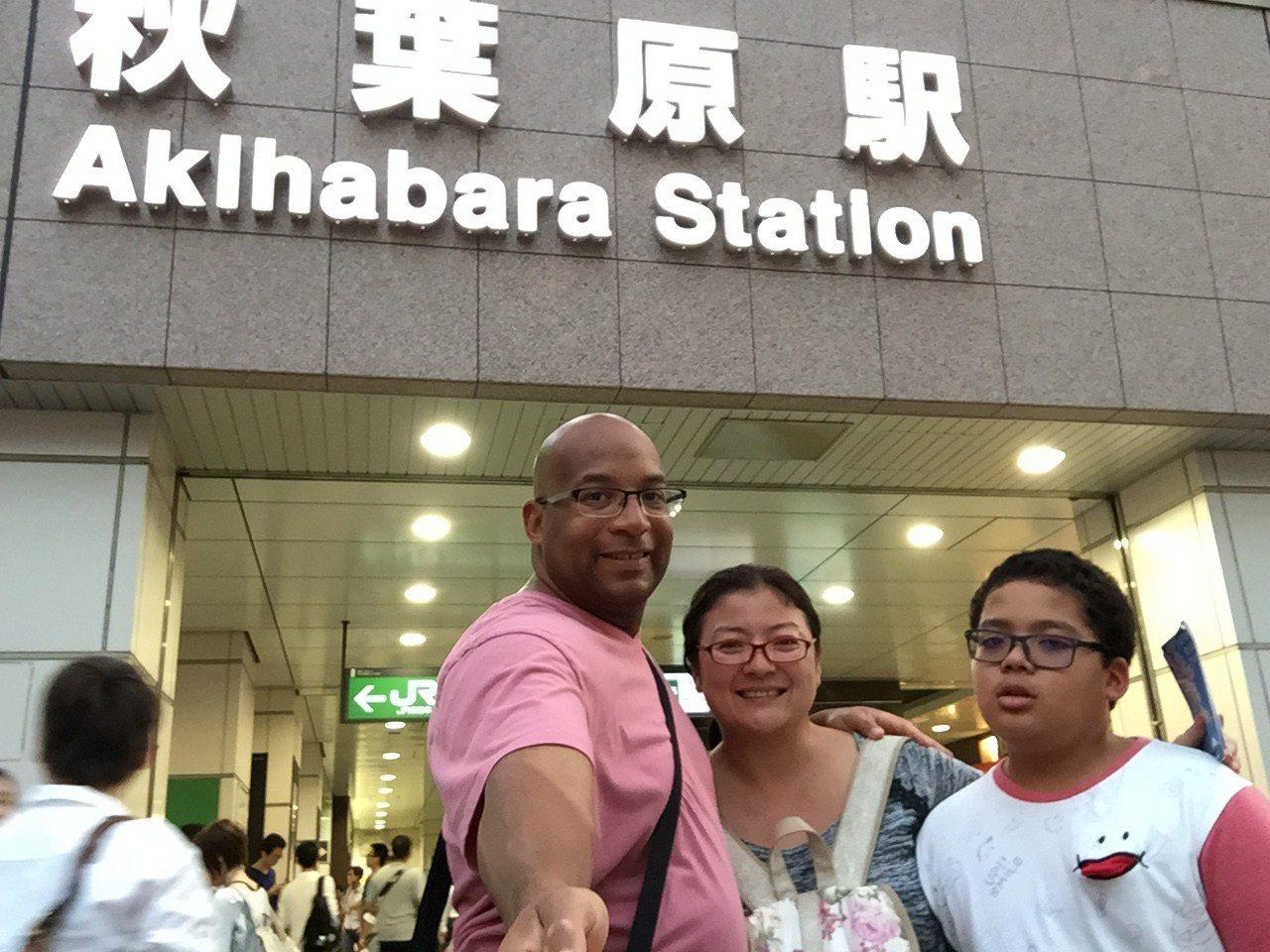 Traveling In Japan - Akihabara Station