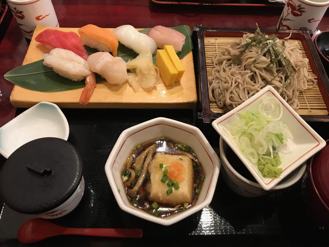 Eating Food In Japan - Sushi