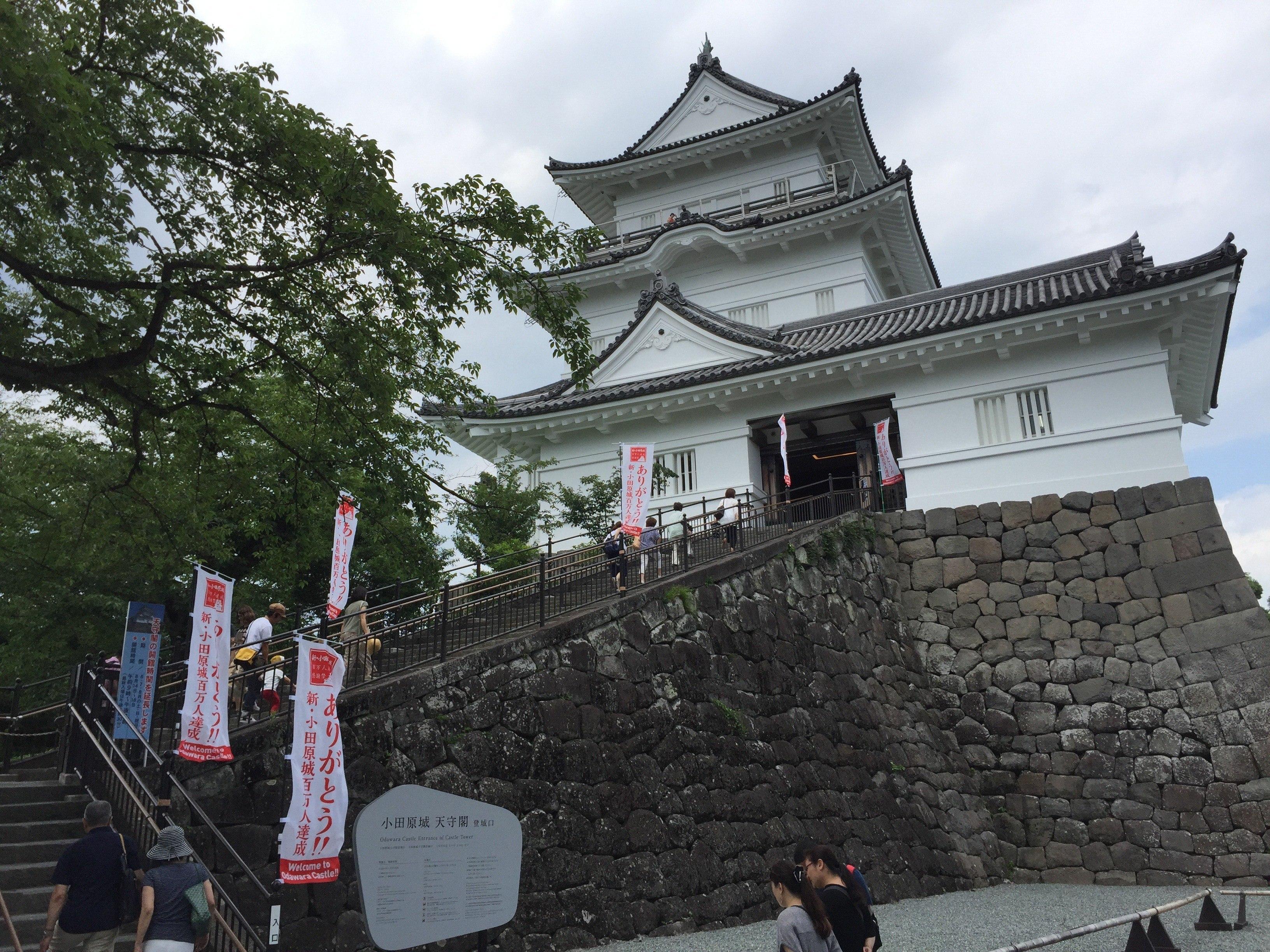 Odawara Castle Museum - Odawara Castle Japan Guide Review Video - 9 Reasons To See Odawara Castle Kanagawa Japan 🇯🇵 🏯 🌸