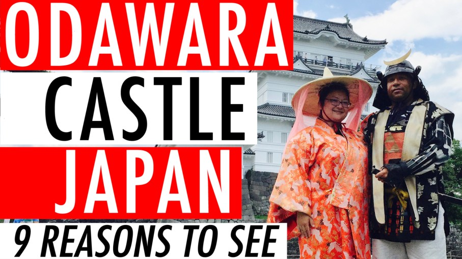 Odawara Castle Japan Guide Review Video - 9 Reasons To See Odawara Castle Kanagawa Japan 🇯🇵 🏯 🌸