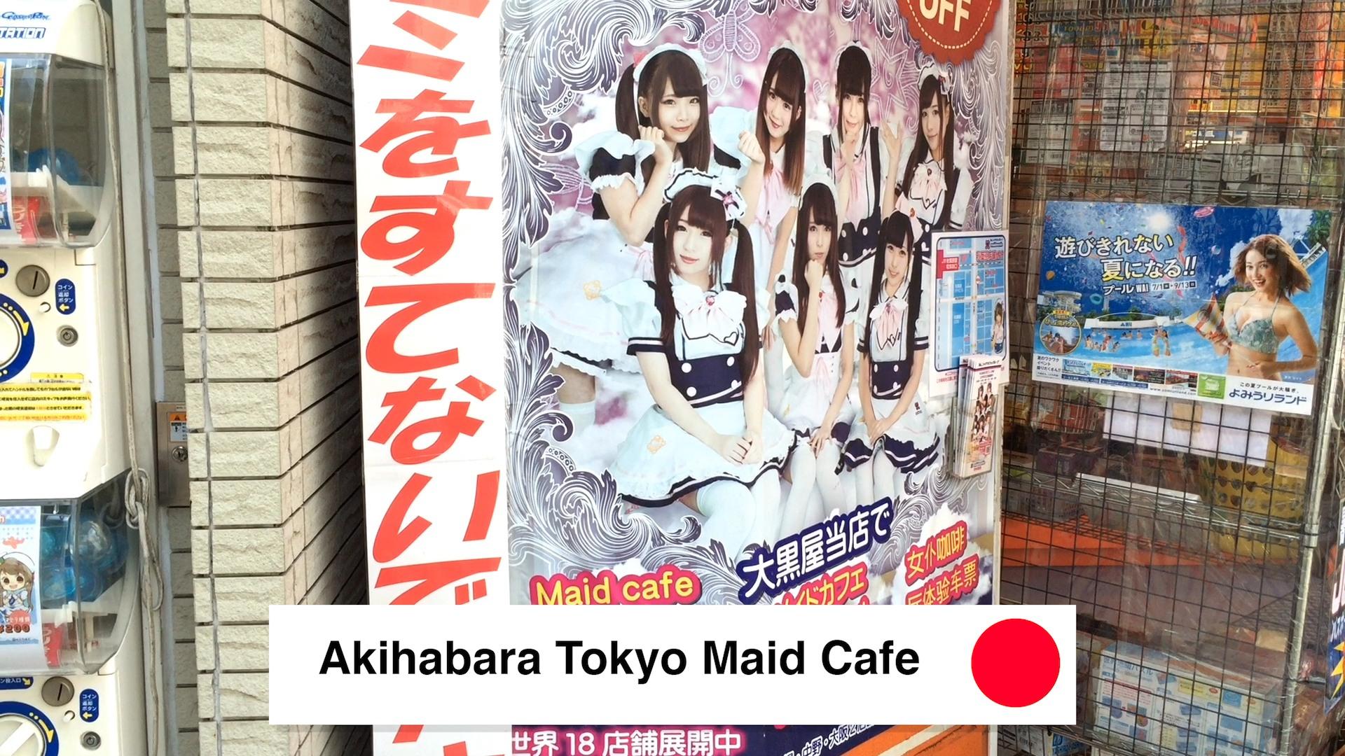 Akihabara Tokyo Maid Cafe - Akihabara Tokyo Anime District - Walking Around Akihabara Tokyo What To Do 2018 - Loot Anime Discount Code 2018 🇯🇵 🏙 📦