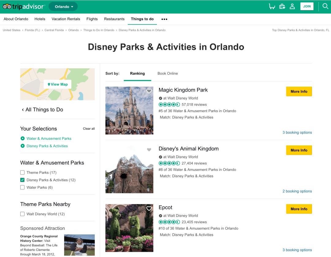 Disney Parks and Activities in Orlando on TripAdvisor 🇯🇵 🌐 ⛩