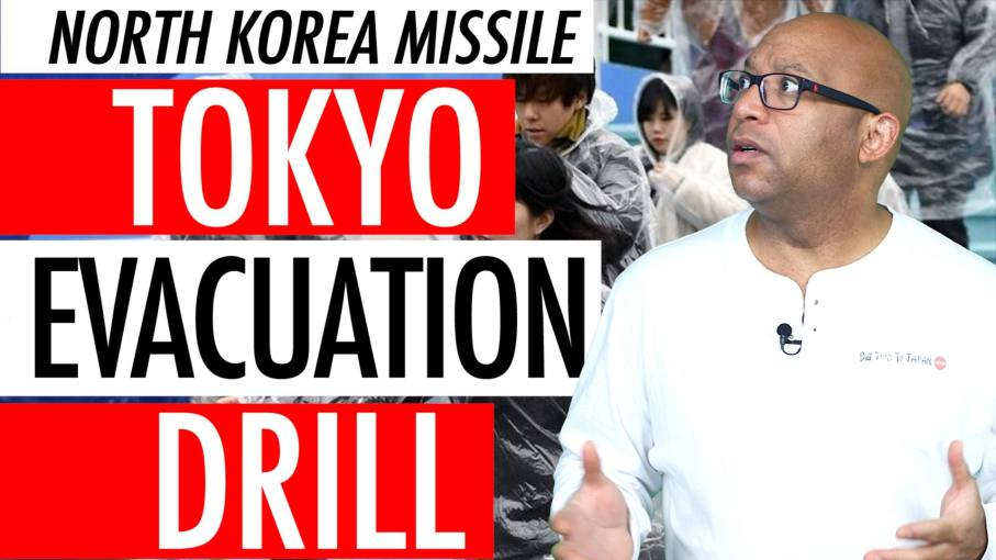 Tokyo Japan North Korea Missile Evacuation Drill 2018 - Abe Calls North Korean Threat Imminent 🇯🇵🚀⚠️