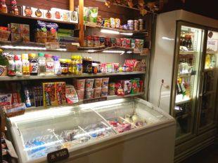 売店の調味料・お菓子
