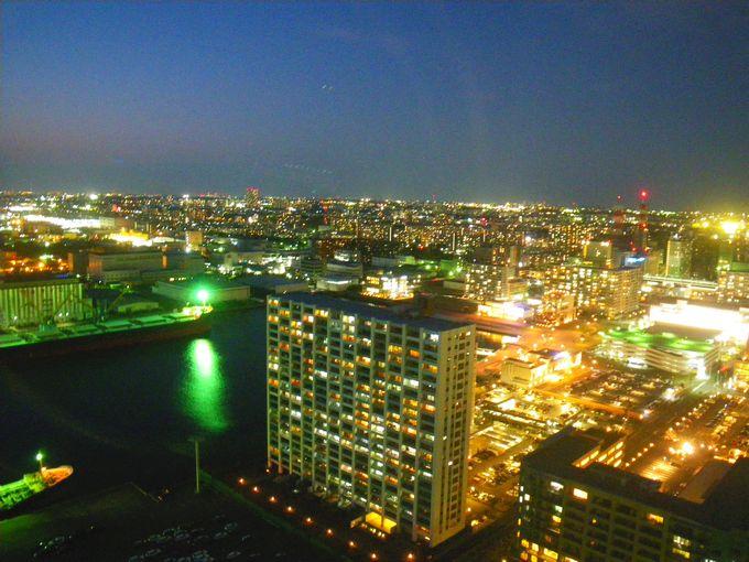 千葉ポートタワー 夜景
