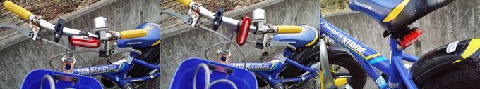 Teyimo 自転車テールライトはいろいろな場所に装着できる