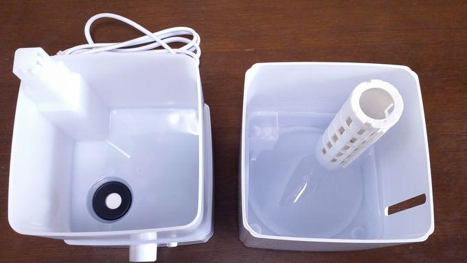 ZNT加湿器(E101)の中身