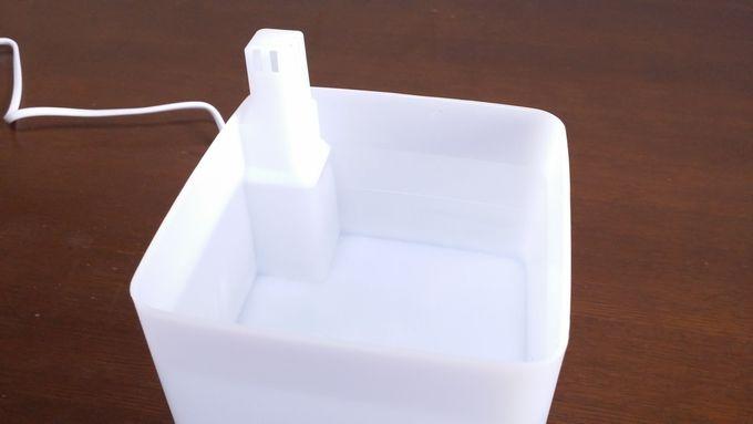 ZNT加湿器(E101)に水を入れるる