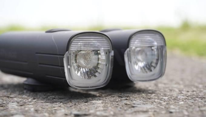 オーライト(OLIGHT)自転車ライト RN400 RN1500の防眩機能レンズ