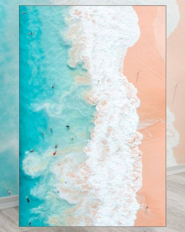 Oversized Oahu Beach Wall Decor