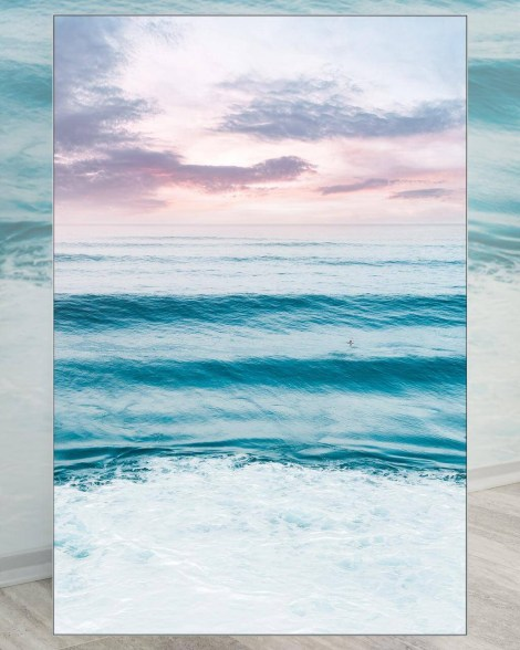 Oversizd pink pastel sunset Koa Horizons Wall Decor