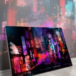 Big Wall Home Decor Huge Large Biggest Gigantic Wall Décor Massive Largest Giant Art Backlit Fabric Home Deco Artwork Instagram Digital Artist Daniel Ignacio Dkaism Instagram Street Sketch Colorful Painting Surreal Future