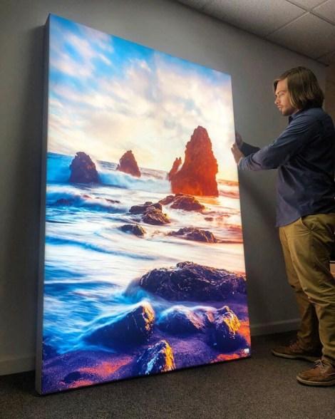 Big Beach Ocean Wall Art Huge Decor Prints