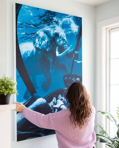 Big Surreal Elephant Wall Art Huge Decor Prints