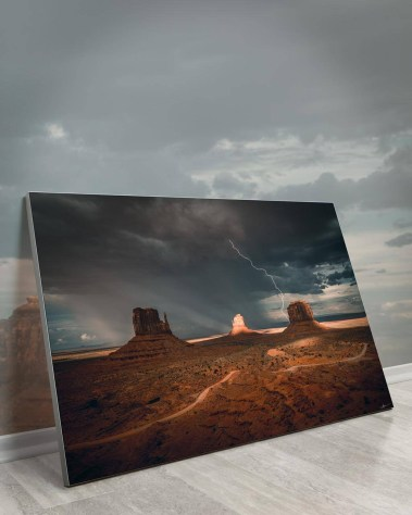 Massive Desert Wall Art Huge Decor Large Big Biggest Massive Largest Giant Gigantic Wall Décor Art Backlit Fabric Home Deco Artwork Artist Andy Vu Andyhvu Landscape Scenic Photography Instagram Desert Canyon Valley Thunderbolt Rock Utah