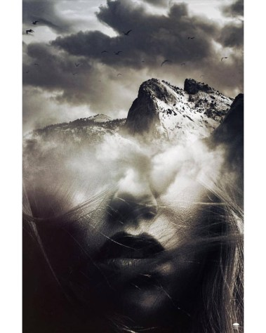 Huge Mountain Face Wall Art Huge Decor Prints