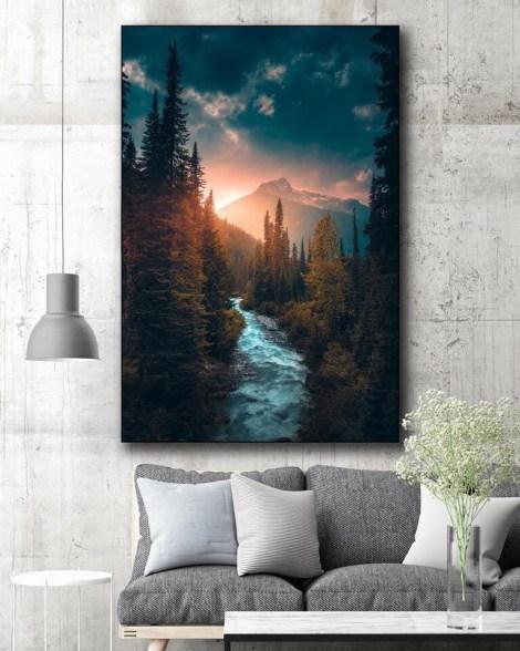 Oversized Nature Trees Outdoor Wall Art Huge Decor Prints