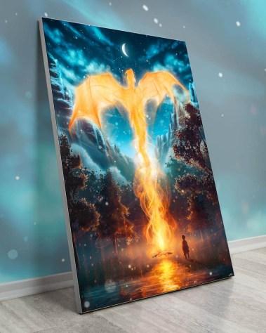 Massive Dragon Wall Art Huge Decor Prints