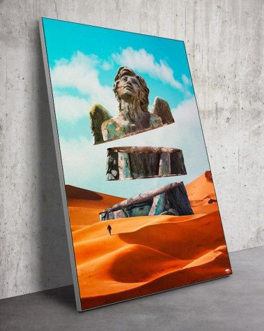 Big Surreal Desert Wall Art Huge Decor Prints