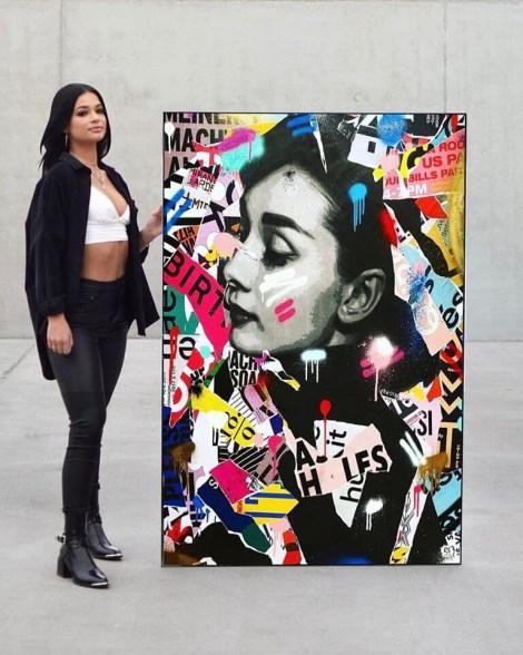 Big Colorful Pop Art Wall Art Huge Decor Prints