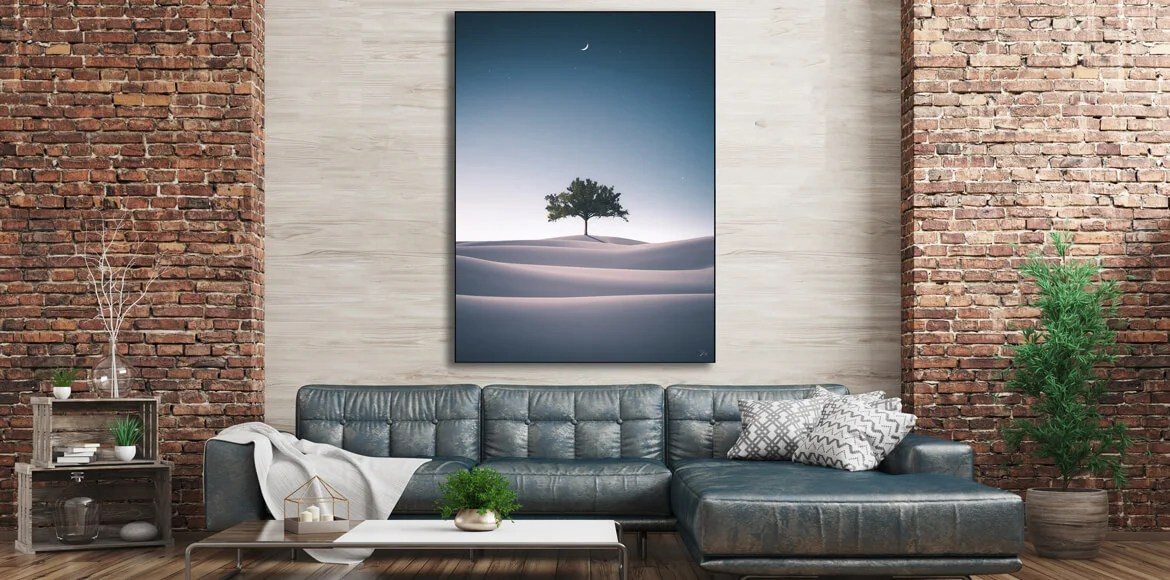Surreal Wall Art Extra Large Living Room