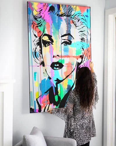 Marilyn Monroe Art Large