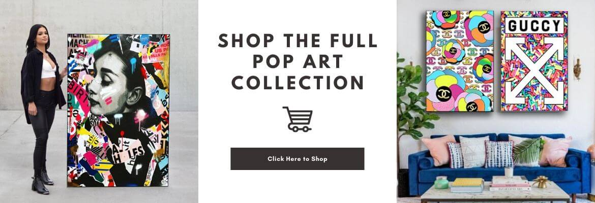 Full Pop Art Collection BIG Wall Decor