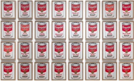 Andy Warhol Large Pop Art Campbell's Soup