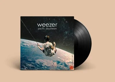 Surreal Weezer Album Cover Artwork Fran Rodriguez Space Swing