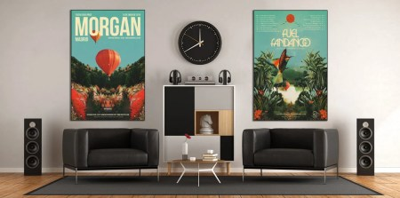 Music Room Large Wall Decor Festival Concert Poster Fran Rodriguez