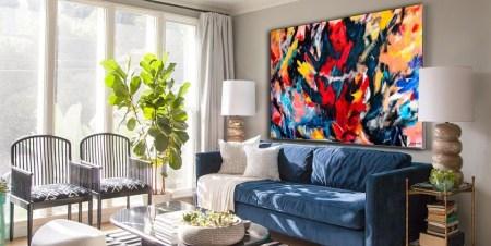 Big Wall Decor Abstract Art Home Projects DIY Interior Design