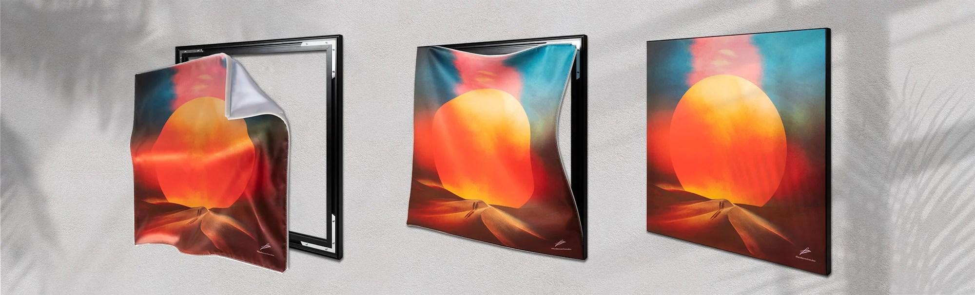 Big Wall ArtArtfab Prints Interchangeable home decor displays