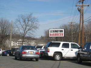 Lexington BBQ #1 Signage