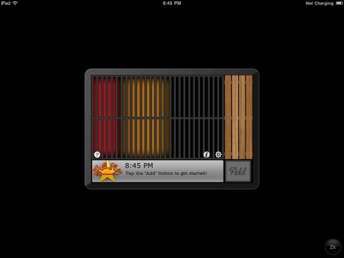 GrillStar Initial Screen