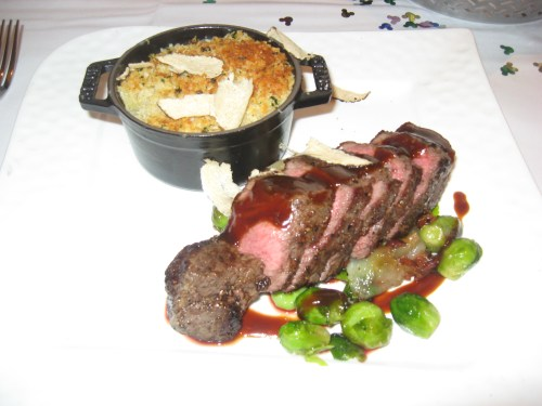 Cast-Iron Seared Bison Tenderloin from California Grill
