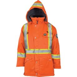 Men's orange Brandon Parka jacket