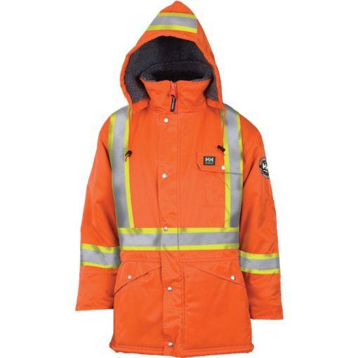 Men's orange Brandon Parka jacket