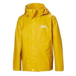 Kid's yellow outerwear rain Jacket