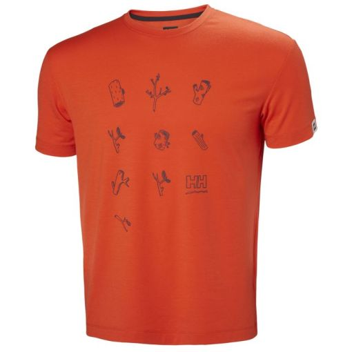 Helly Hansen Mens Skog Graphic T-Shirt