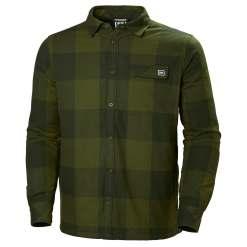 Helly Hansen Mens Fjord Lifaloft Insulated Flannel Longsleeve Shirt